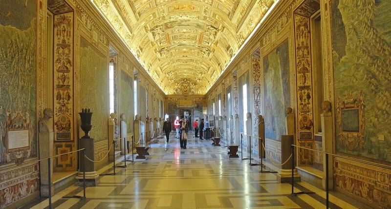 Galería de los Mapas, Vaticano